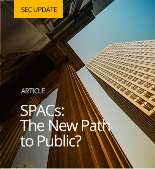 Featured image for SPACs: The New Path to Public?